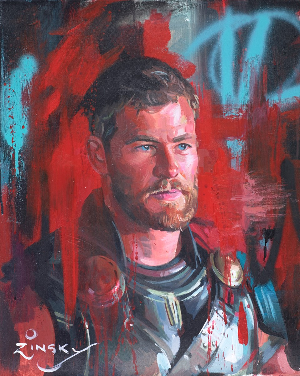 Thor by zinsky -  sized 15x19 inches. Available from Whitewall Galleries